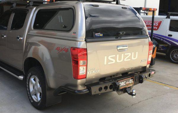 Rear bar MCC 022-03