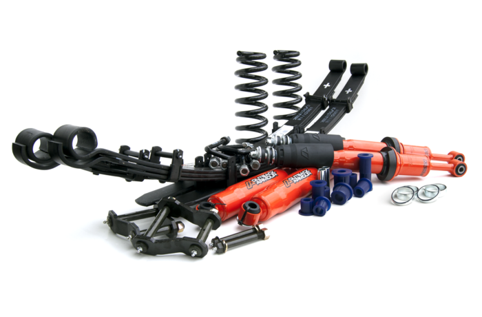 Outback Armour 2″ Lift Kit (Trail) For Toyota Hilux 2005-2015