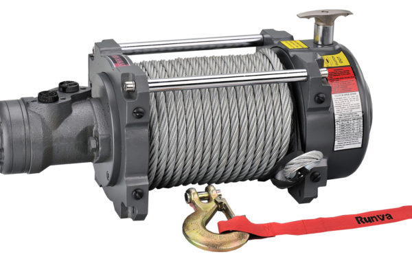 Runva HWN15000YD with Steel Cable